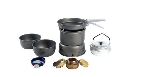 Set de hornillo Trangia 27-2 de ligero aluminio anodizado duro